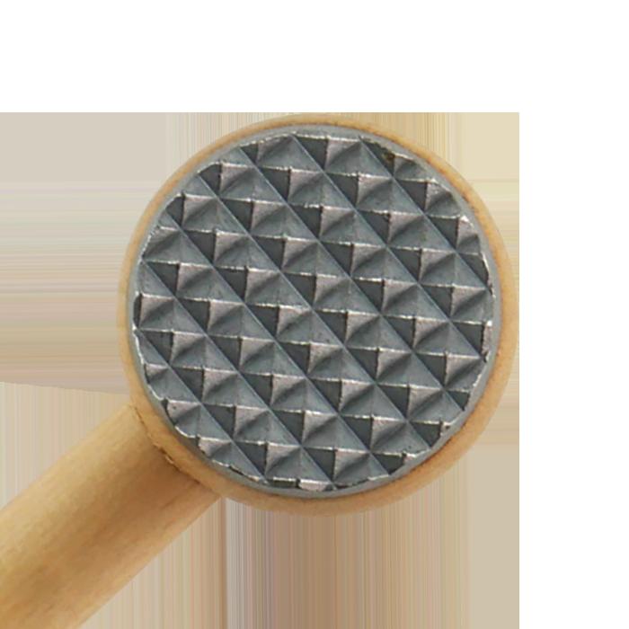 Kötthammare Trä med 2st Aluminium Beslag