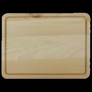 Träskärbräda med Ränna 31cm Bok